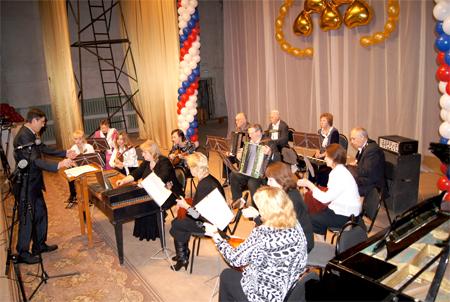Оркестр русских народных инструментов Лукояновского районного